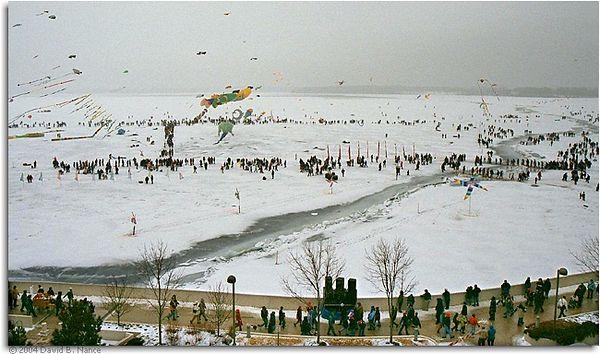 Kites On Ice - Madison WI