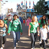 Key Club members from St. Mary's High School head off with their youngsters to help them enjoy the Fair.