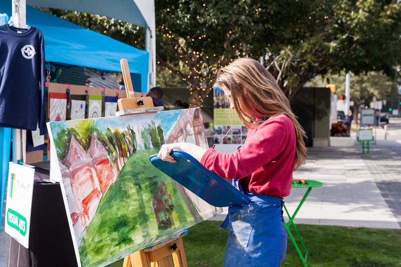 Klyde Warren Park 5th Anniversary, Arts in the Park