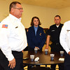 Debbie Blank | The Herald-Tribune<br /> As Dave Record called each department or agency's name, members stood, including the Sunman Rural Fire Department.