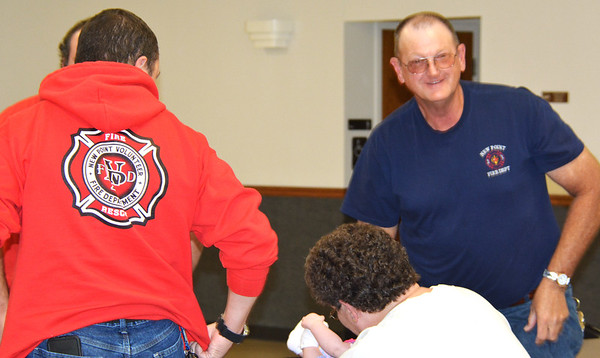 Debbie Blank | The Herald-Tribune<br /> New Point Volunteer Fire Department personnel had a good time.