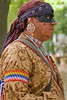 9/09:  Native American re-enacted  at Koh-Koh-Mah