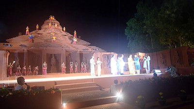 Short video clip shot by Anu (Arundhathi) at The Konark Dance & Music Festival held from Feb 19 to 23, 2010 which was organized by Konark Natya Mandap.