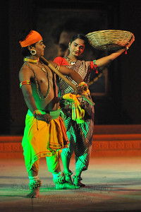 Chhow Dance by Purulia, West Bengal.  The Konark Dance & Music Festival 2011 held from February, 19th to 23rd, organized by Konark Natya Mandap. The festival takes place in an open-air auditorium and enlivens the spirit of the sculptures of Konark temple which is just a short distance away.  The objectives of the Konark Natya Mandap are to preserve, promote, and project the rich cultural heritage of Orissa and to infuse cultural awareness in the minds of all. Started with painstaking efforts of internationally renowned Odissi dance teacher Guru Gangadhar Pradhan who unfortunately passed away last year. For more details on the festival see  http://www.konarknatyamandap.org/