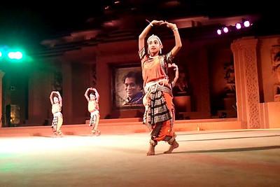 Gotipua Dance, Konark Natya Mandap, Konark. A short video clip shot on Samsung Galaxy S phone.
