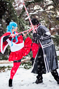 Michi Cosplay vs. The Last Beta Tester Cosplay | Yuuki Asuna vs. Kirigaya Kazuto