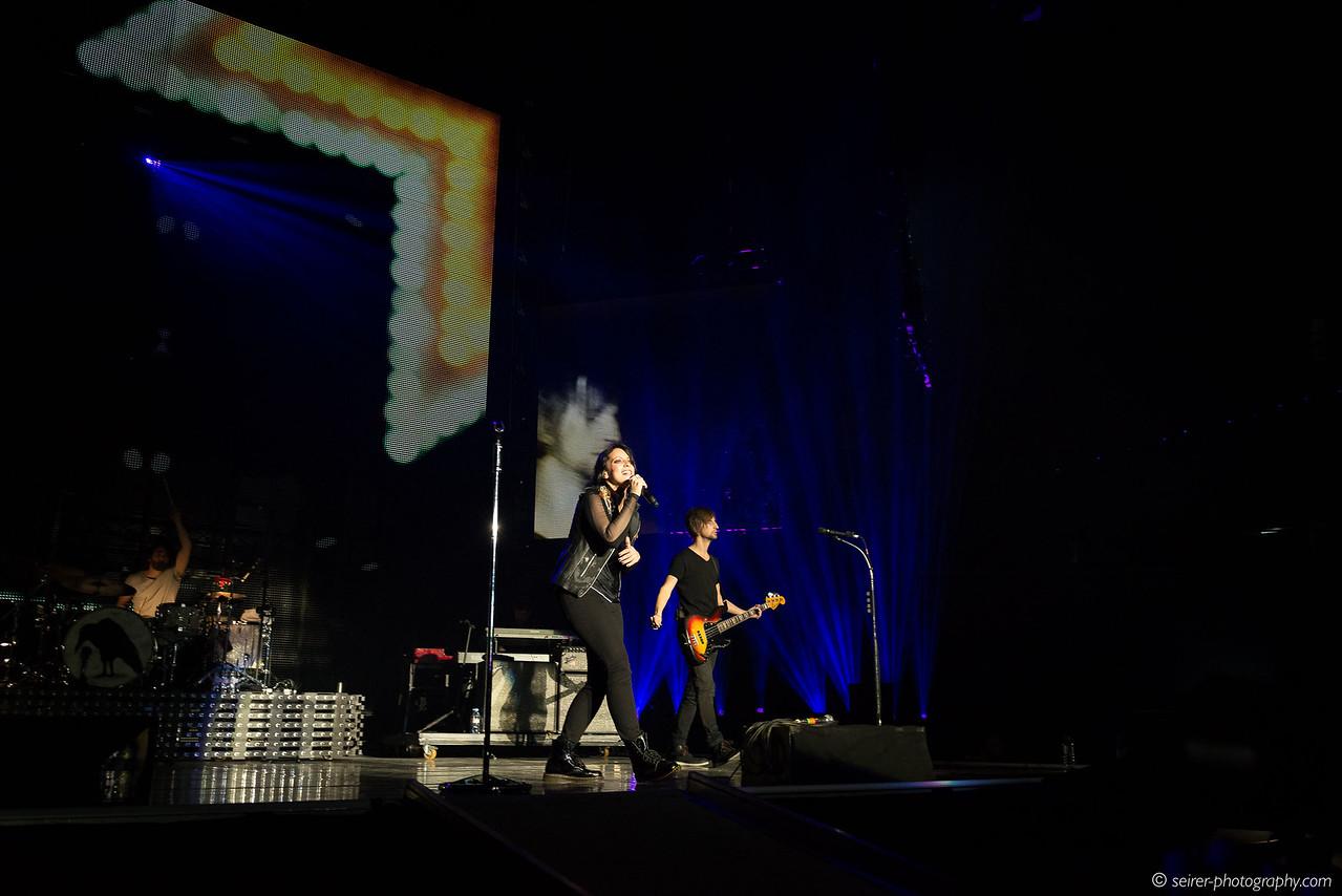 Silbermond Konzert in der Wiener Stadthalle, 18. Mai 2016