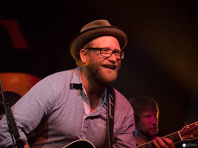 Gregor Meyle performing at 4GameChangers Festival at Marx Halle