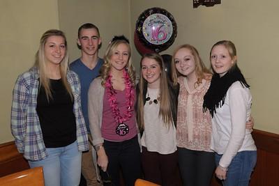 Kourtney's 16 birthday party