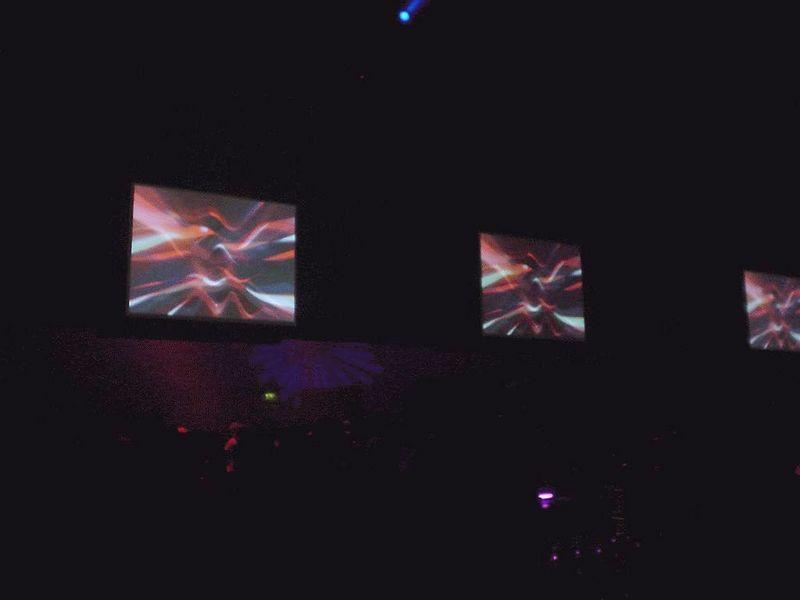 Screens in Area 2