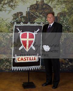 Castille flag bearer