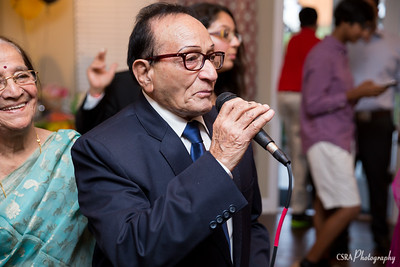 Krishan Kapuria 89th Birthday