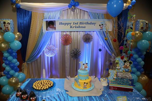 Krishna's 1st Birthday Celebration