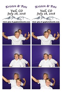 Kristen and Pete/ Eagle's Nest Vail