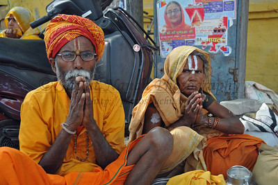 "Various holy men come to Haridware for the Kumbh Mela and display their various ""skills"" and ""powers"".  Kumbh Mela is the biggest religious gatherings on the planet which takes places on the banks of the river Ganga. The number of pilgrims this year is expected to exceed around five million since the first day Jan 14 till the time it concludes on April 28, 2010. The auspicious days of the shahi snan or royal baths usually draw hundreds of thousands of devotees to the Har Ki Paudi and other banks of the river. Uttarakhand. North India. The occasion draws pilgrims from around the world and severly overloads the infrastructure so most of the city is shut down for any vehicles other than security or emergency services so a sea of humanity walks through the city to get to the bathing ghats."
