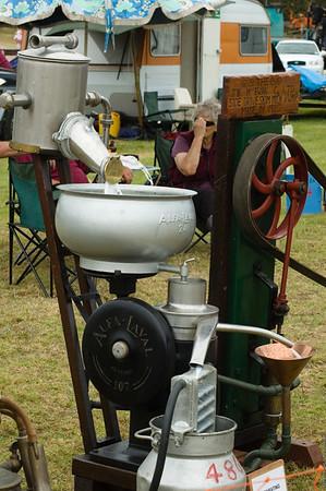 1920 Side drive Skim Milk Pump Agricultural and Pastoral Show Kumeu New Zealand - 11 Mar 2007