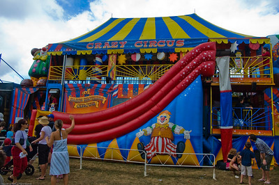 Crazy circus Agricultural and Pastoral Show Kumeu New Zealand - 11 Mar 2007