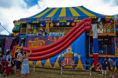 Crazy circus Agricultural and Pastoral Show Kumeu New Zealand - 11 Mar 2007