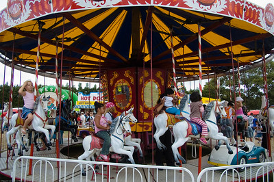Merry go round Agricultural and Pastoral Show Kumeu New Zealand - 11 Mar 2007