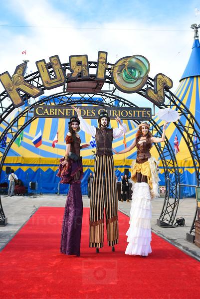 Cirque du Soleil Kurios Premiere - Houston