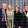 Chris Matthews, Rima Al-Sabah, Kathleen Matthews, Amb. Salem Al-Sabah. Photo © Tony Powell. Kuwait National Day. February 22, 2011