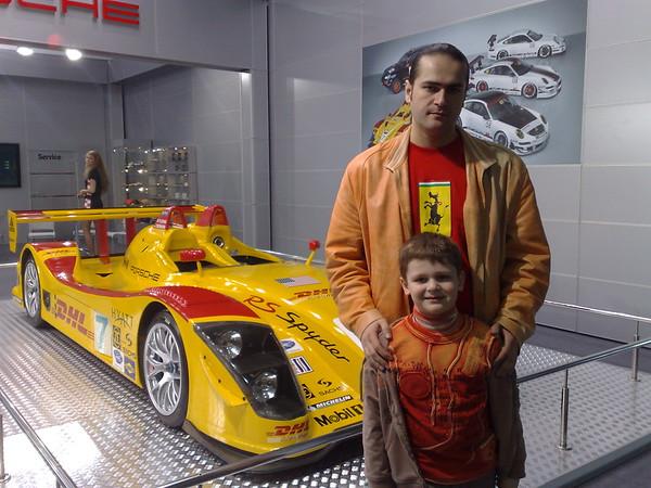 Я с сыном на Kyiv Automotive Show 2008