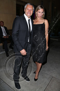 HOLLYWOOD, CA - OCTOBER 09:  Actor Max Ryan (L) and Countess Michelle Czernin von Chudenitz arrive at the 13th annual Polish film festival at American Cinematheque's Egyptian Theatre on October 9, 2012 in Hollywood, California.  (Photo by Chelsea Lauren/WireImage)