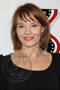 HOLLYWOOD, CA - OCTOBER 09:  Actress Roma Gasiorowska arrives at the 13th annual Polish film festival at American Cinematheque's Egyptian Theatre on October 9, 2012 in Hollywood, California.  (Photo by Chelsea Lauren/WireImage)