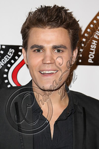 HOLLYWOOD, CA - OCTOBER 09:  Actor Paul Wesley arrives at the 13th annueal Polish film festival at American Cinematheque's Egyptian Theatre on October 9, 2012 in Hollywood, California.  (Photo by Chelsea Lauren/WireImage)