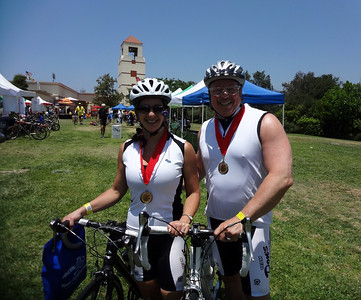 LABC Los Angeles River Ride for ALS Charity, Griffith Park CA June 10, 2012