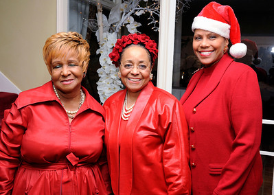 HOMLEY HILLS CA- DECEMBER 13: LADORIS MC LANEY HOST HOLIDAY PARTY FOR OVER 100 WOMEN AT HER HOME ON DECEMBER 13, 2013 (Photo by Valerie Goodloe/Getty Images)