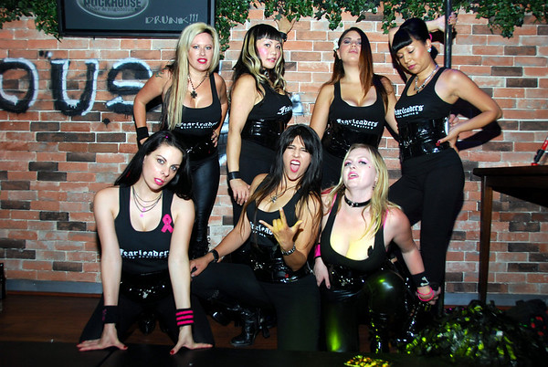 LA's Roller Derby Cheerleading Squad-FEARLEADERS at the ROCKHOUSE in Las Vegas