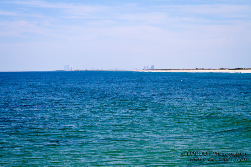 View of Atlantic City from the south end of LBI
