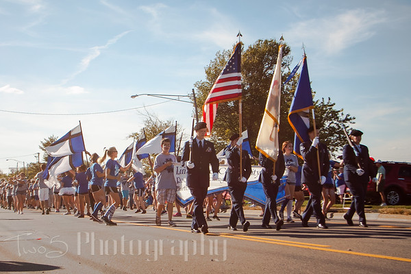 LCHS Homecoming  Parade - 2015