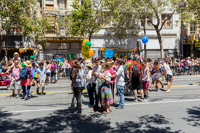 San Francisco Pride Parade/Celebration 2014 - San Francisco, CA, USA