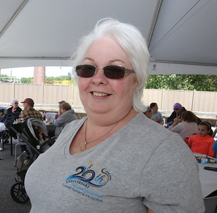 Lowell General Hospital celebrates 20th anniversary of its Cancer Center. Cancer survivor Cyndy Michaels of Lowell. (SUN/Julia Malakie)