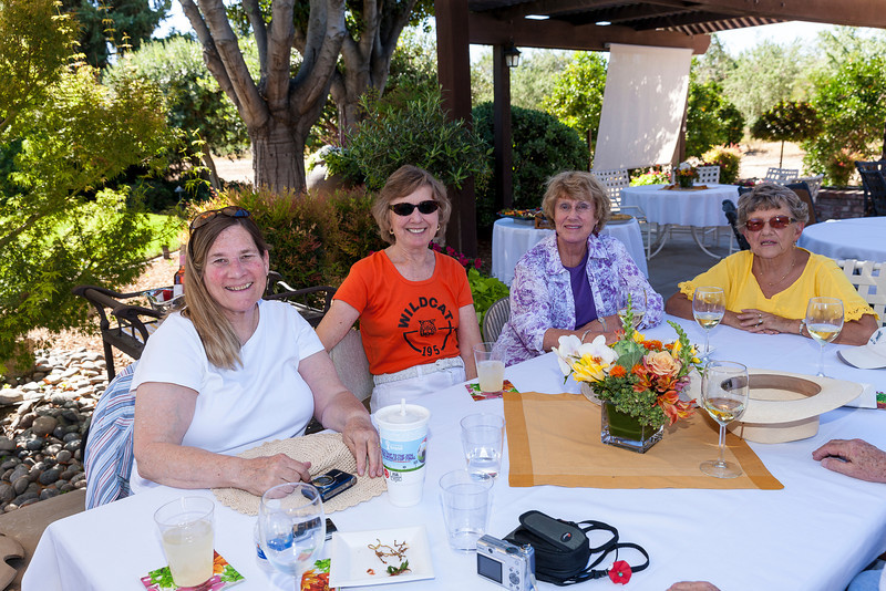 Class of 54 Reunion at Spaglola's Ranch 2013-11