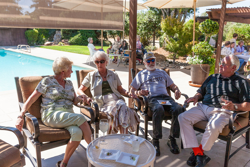 Class of 54 Reunion at Spaglola's Ranch 2013-2