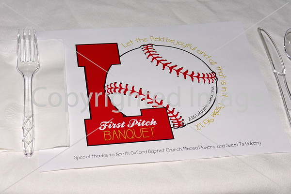 LHS Baseball First Pitch Banquet 2-4-16