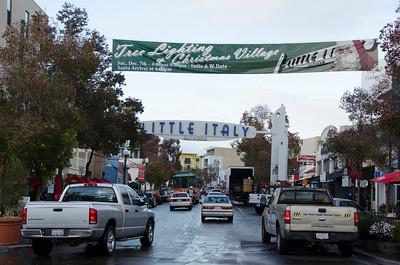 Little Italy Tree Lighting & Christmas Village - 2013