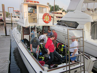 LIDA Sponsored Dive on the Sea Hawk