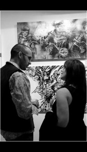 A moment with artist Johnathan Ball ... LISS GALLERY Yorkville September 11, 2010