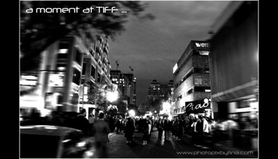 A Yorkville moment at TIFF ... September 11, 2010