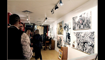 LISS GALLERY presents the artwork of Johnathan Ball ...