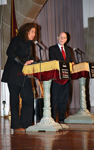 Anna Deavere Smith and Harold Holzer