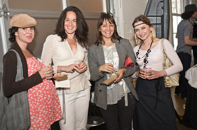 Rachel Pearson (Speesees), Jacqueline Stolte, Christiana Coop (FermLiving), Anjelika Koul (Bohemian Socials)