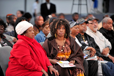 INGLEWOOD CA:  Los Angels Townhall Meeting to go Beyond Trayvon. The Discussion looked at whether or not race relations and racial profiling of Black Men has changed over the past 20 years since the 1992 Civil Unrest. Connie Rice, Yo Yo, Reverend Lewis Logan and Minister Tony Muhammad were among the main speakers. The first hour of the 3 hour townhall meeting was hosted by Dominique DiPrima. (Photo by Valerie Goodloe)