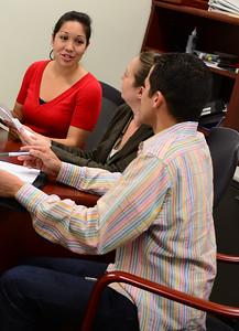 Carlos Fernandez, Diosa Werner, and Alyson Holliday