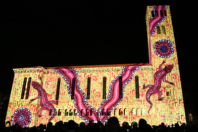 LUMINOUSnight spectacular UWA 2013 Centenary
