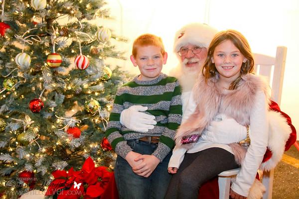 LWR photos with Santa